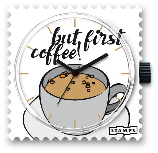 First: Coffee